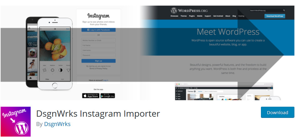 DsgnWrks Instagram Importer