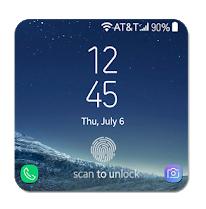Fingerprint Prank Lockscreen Galaxy S8