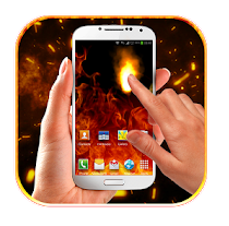 Fire Screen Simulated App