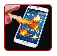 Fire screen Prank App