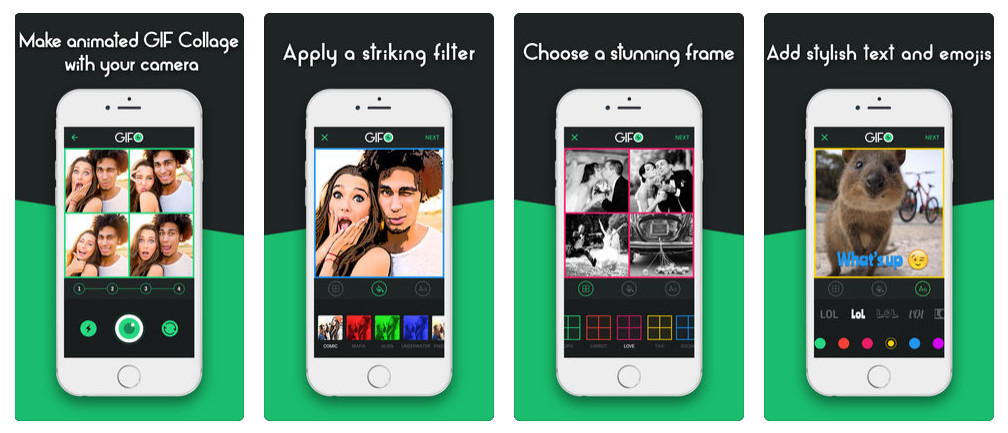 GIF photo & video maker apps