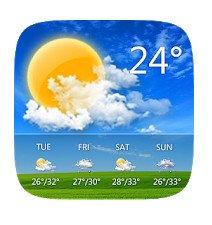 GO Weather - Widget, Theme & Wallpaper