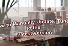 how to manually update itunes