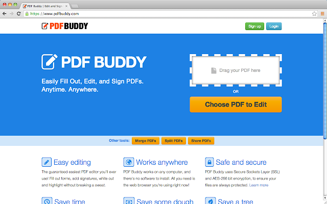 Desktop PDF Editor - PDF Buddy