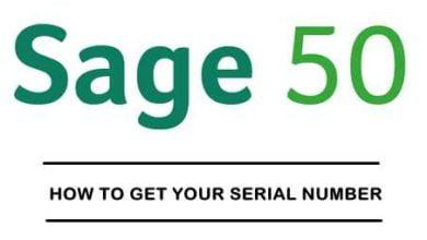 Sage 50 Serial Number