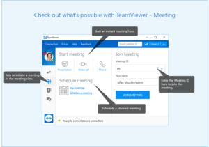 TeamViewer UI