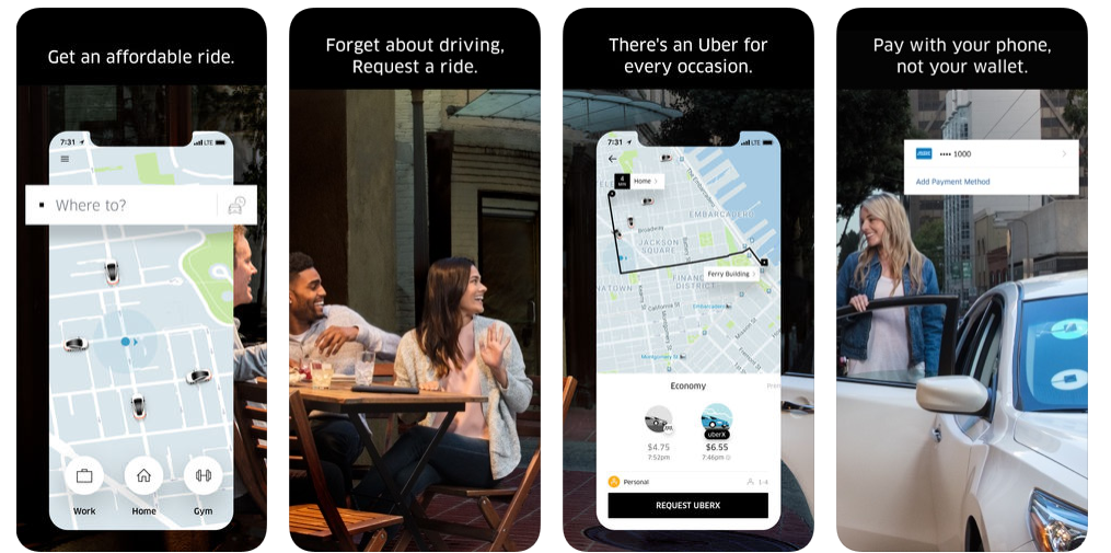 cab booking apps