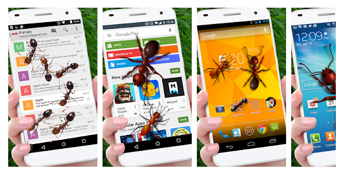 Ant on Screen Apps
