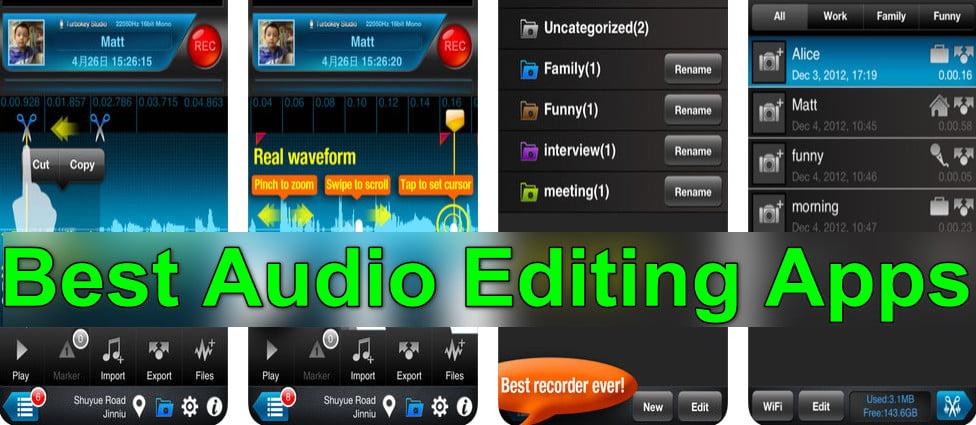 audio editing apps