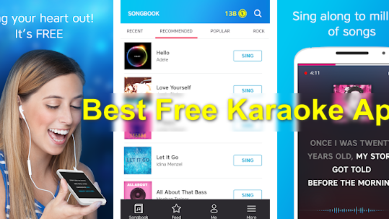 10 Best Free Karaoke Apps for Android And iPhone - Nolly Tech