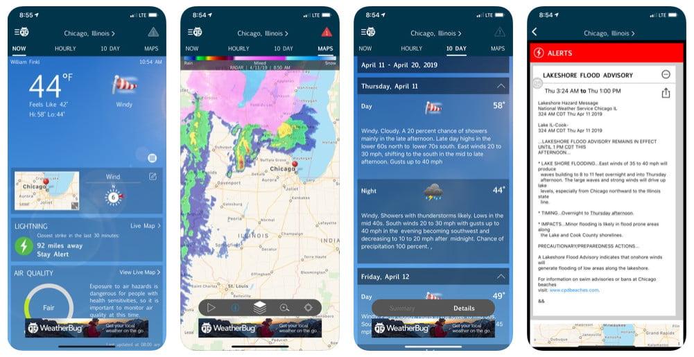 weather widget apps