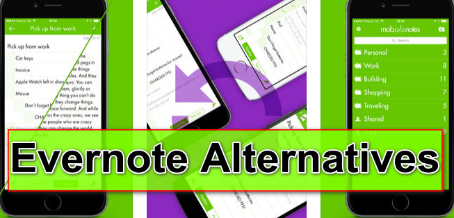 evernote alternatives