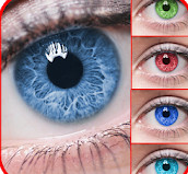 red eye removal apps-Eye Lens Color Changer