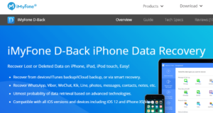 recover deleted data-iMyFone D-back