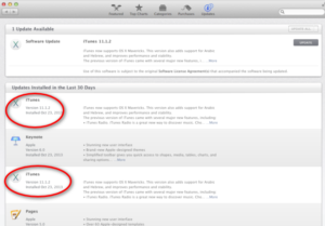 how to manually update itunes-iTunes