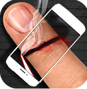 Laser Cut Fingers Prank