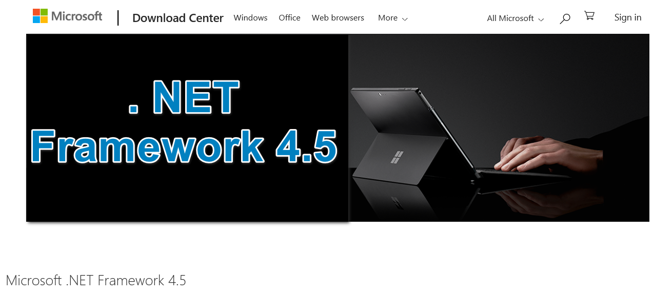 microsoft .net framework 4.5 download for windows 7 64 bit