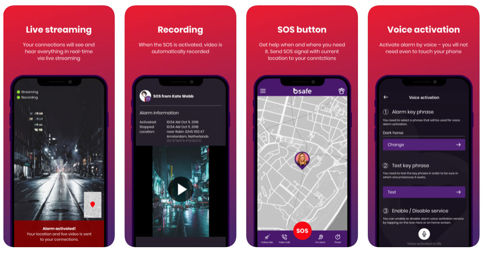 personal safety apps