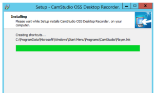 CamStudio Free Download screen recording-Setup