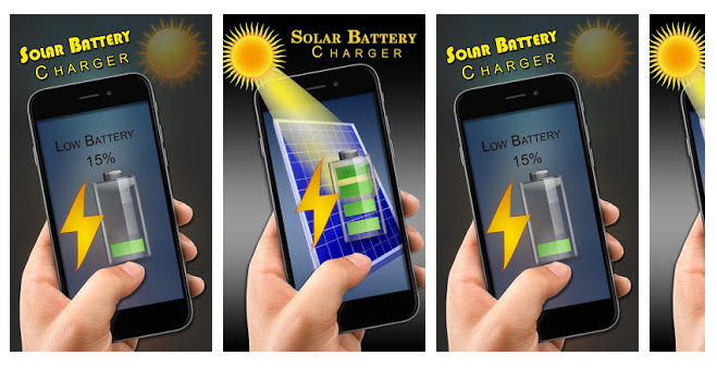 solar battery fast charger prank app