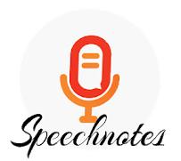 Voice to text app - SpeechNote