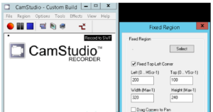 CamStudio Free Download screen recording-Customization
