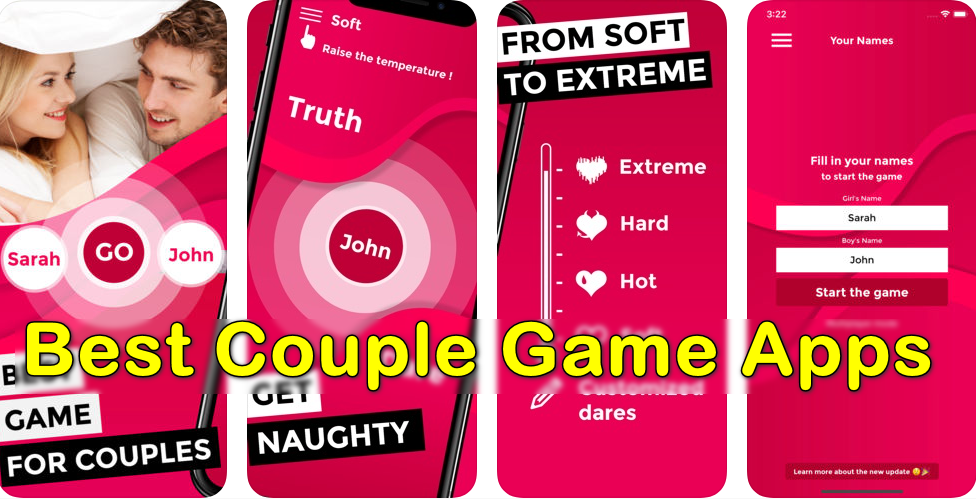 Best Couple Game Apps