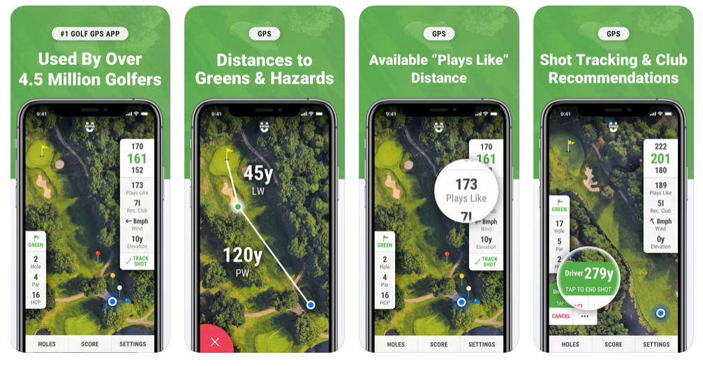 golf GPS apps