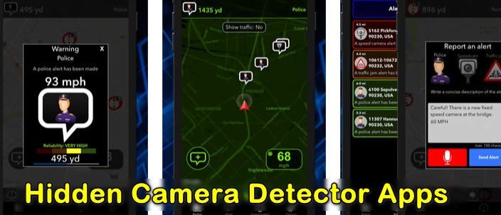 😱 Best hidden camera detector app android | 3 Best Hidden Camera