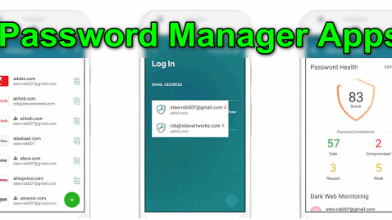10 Best Password Manager Apps for Android and iOS - Nolly Tech