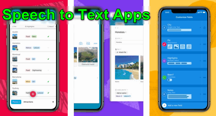 Speech to Text Apps