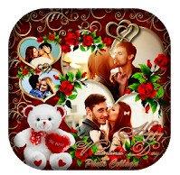 Valentine's Day app Photo Collage