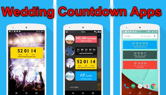 Wedding Countdown Apps