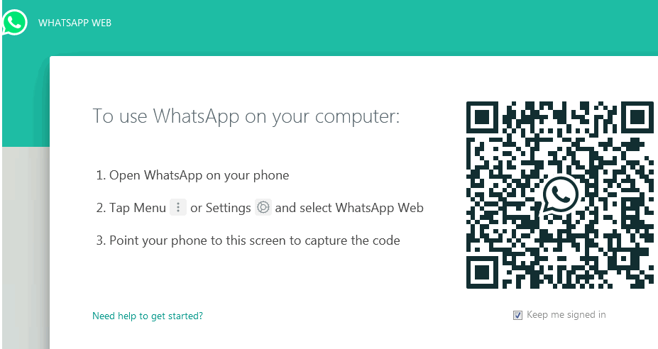 Application Software Examples - WhatsApp Web