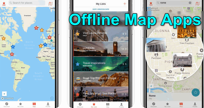 Offline Map Apps