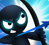Two Player Game Apps-Stickerman Archer Fight