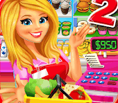 Girl Game Apps-Supermarket Grocery Store Girl