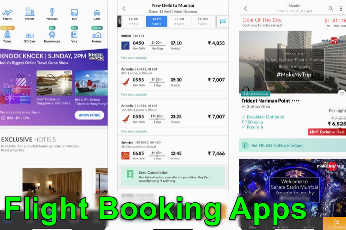 Flight Booking Apps