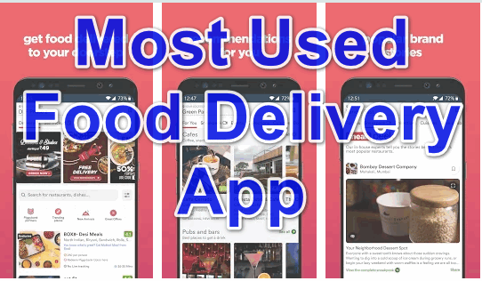 most used food delivery app