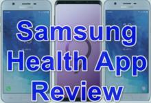 Samsung health app review