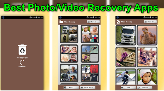 Best Photo/Video Recovery Apps