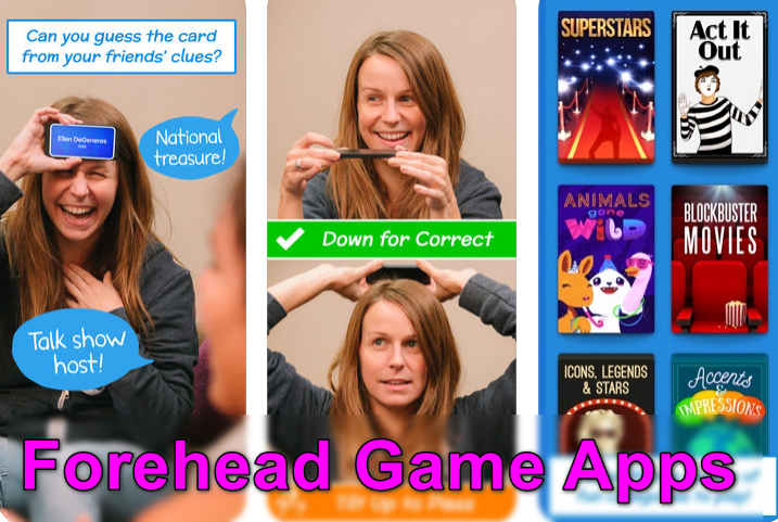 Forehead Game Apps