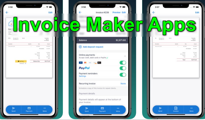 Invoice Maker Apps