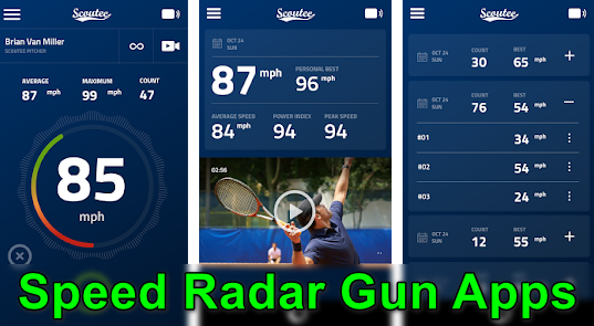 Speed Radar Gun Apps