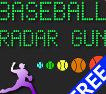 Speed Radar Gun Apps-Baseball Radar Gun High heat