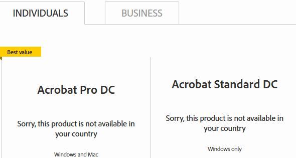 Adobe Acrobat Pro free - best value