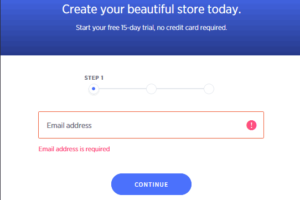 bigcommerce free trial-create store
