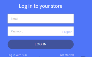 bigcommerce free trial - login to store