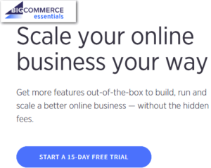 bigcommerce free trial-start free trial