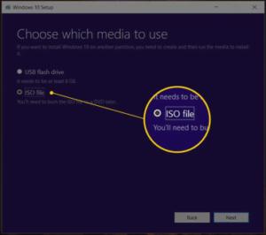 Windows 10 free download-choose media
